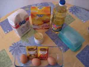 Preparation du gateau au yaourt